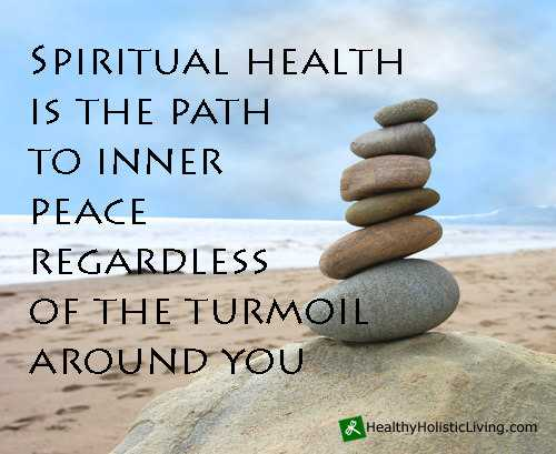 Do You Have a Healthy Spirit?
