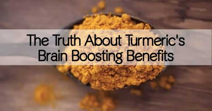 The Truth About Turmeric's Brain Boosting Benefits