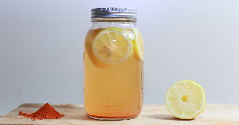 Raw Homemade Lemonade: helps you lose weight and boost immunity
