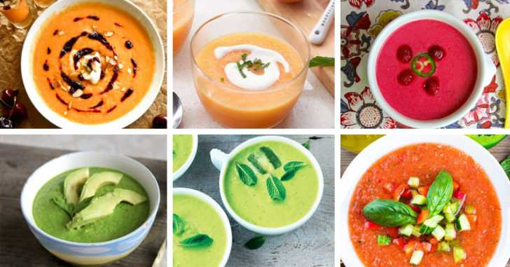 healthy gazpacho recipes