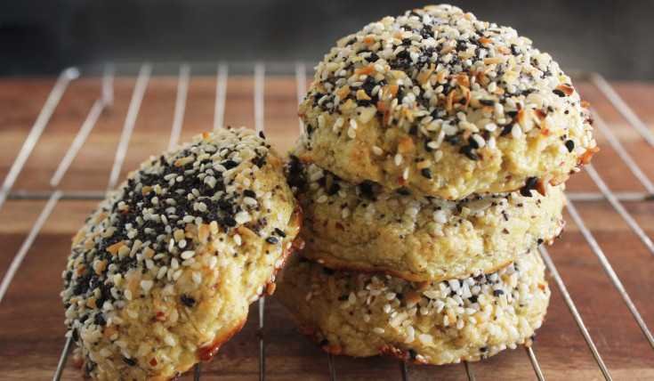 coconut flour everything bagel