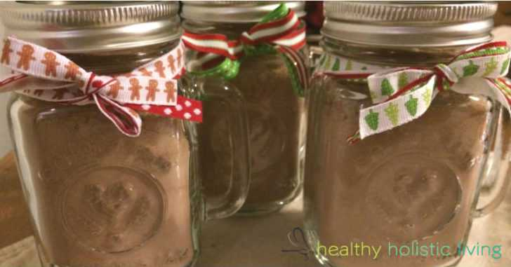 This Hot Chocolate Mix Is All Natural, Full Of Antioxidants And Makes A Great Gift For The Holidays!