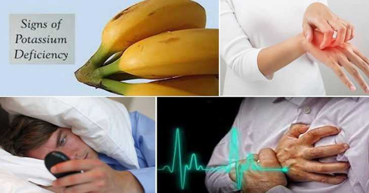 9 Symptoms of Low Potassium Levels in Your Body that You Should Not Ignore