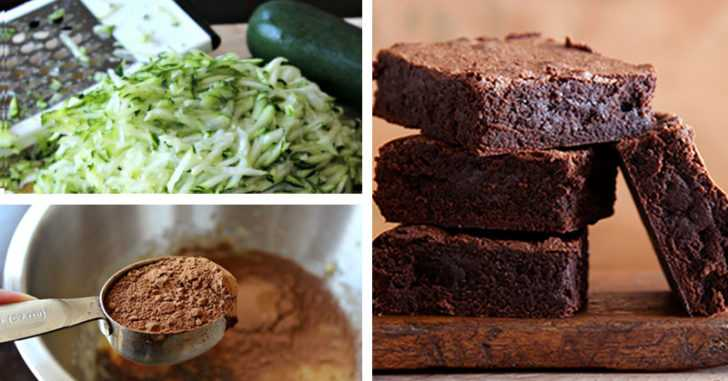 Guilt Free Gluten Free Shredded Zucchini Brownies!