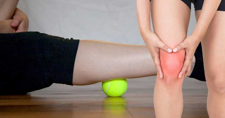 How to Use a Tennis Ball to Relieve Your Knee, Joint, and Back Pain (Plus 5 More Exercises)