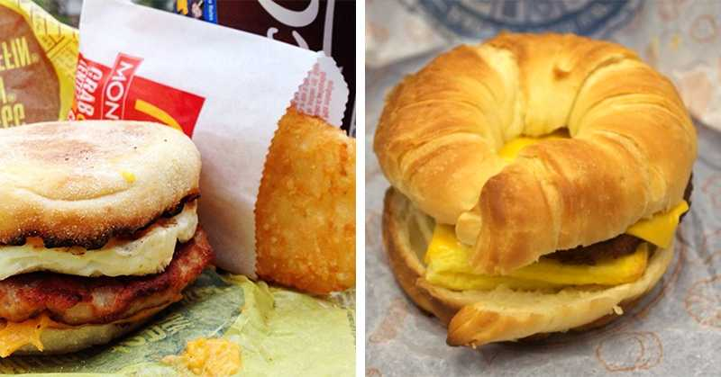 Report: These 11 Fast Food Breakfasts Are Completely Unfit For Human Consumption