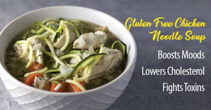 Anti-Inflammatory, Gluten-Free Chicken Noodle Soup That Can Help Many Health Problems
