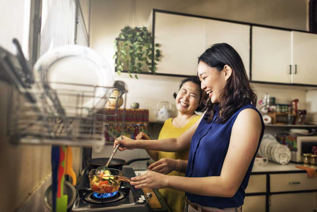 mother-daughter-cooking, mother and daughter, mother and daughter activities, mother's day